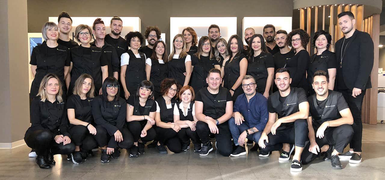 Foto di gruppo del team CDB