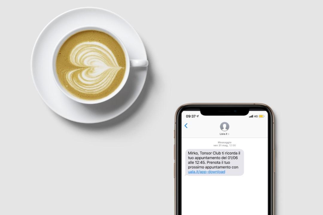 Promemoria appuntamento via SMS Uala