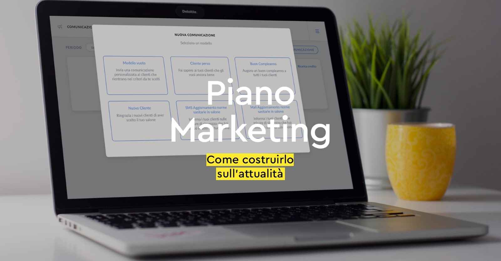 Piano marketing per saloni