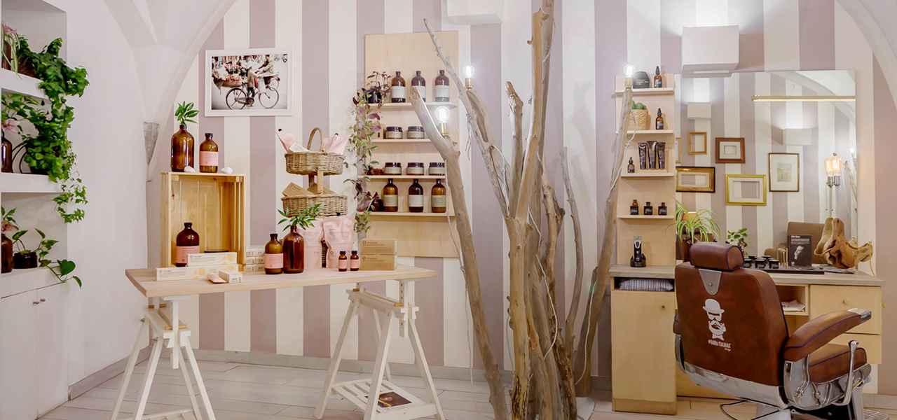 Foto interno salone di bellezza