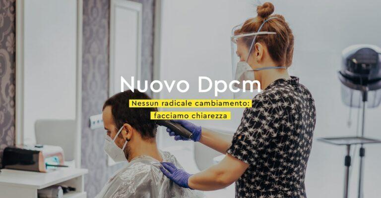 Nuovo DPCM: nessuna stretta ulteriore per parrucchieri e saloni di bellezza